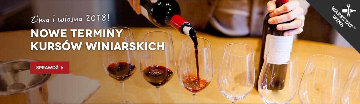 Warsztat Wina: podstawowe i zaawansowane kursy wiedzy winiarskiej