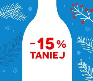 Zimowa Wyprzedaż 2018: wybrane wina 15% taniej