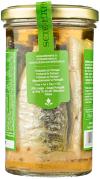 Sete Mares sardynki w oliwie z oliwek z cytryną (250 g)