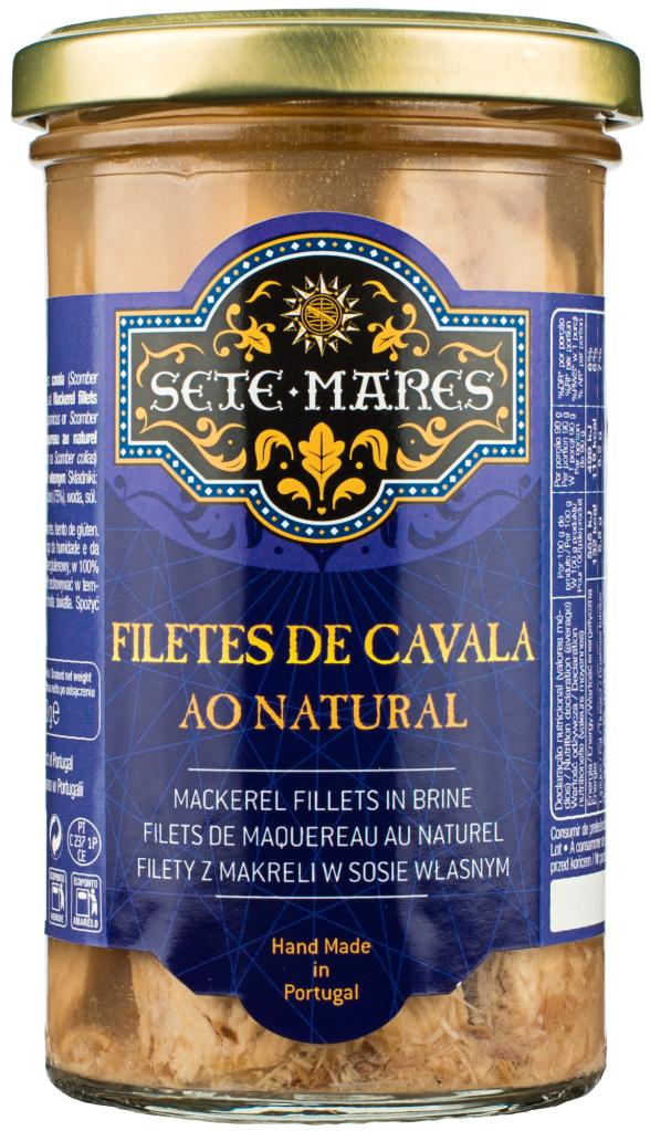 Sete Mares filety z makreli z sosie własnym (250 g)