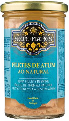 Filety z tuńczyka Sete Mares w sosie własnym (250 g)