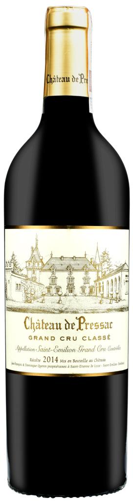 Wino Chateau de Pressac Saint-Emilion Grand Cru AOC 2017