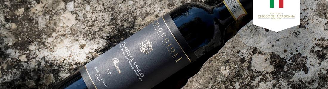 Chioccioli Altadonna. Degustacja win włoskich połączona z kolacją w Warszawie