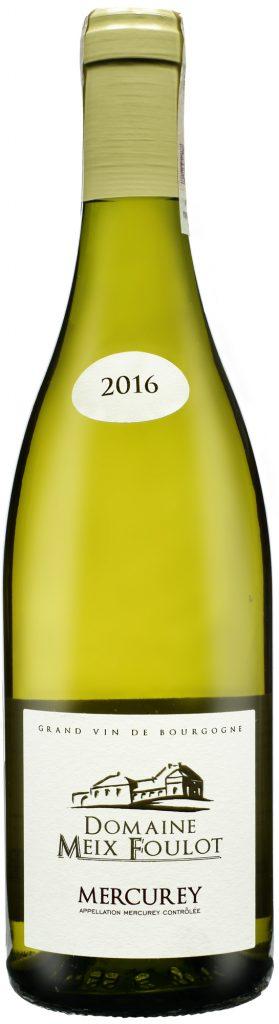 Wino Domaine Meix-Foulot Mercurey Blanc AOC 2017