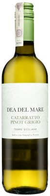 Wino Dea Del Mare Catarratto Pinot Grigio Terre Siciliane IGP 2018