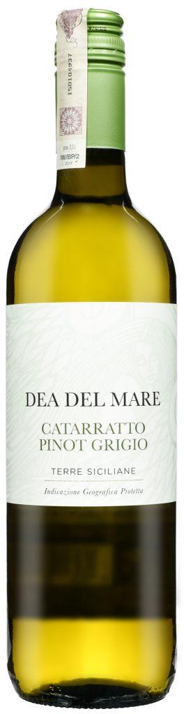 Wino Dea Del Mare Catarratto Pinot Grigio Terre Siciliane IGP 2017