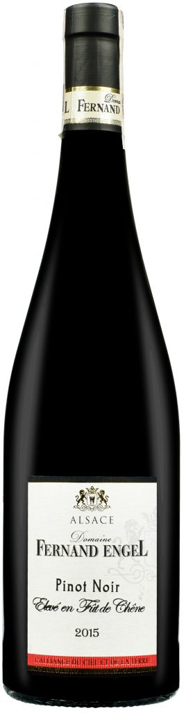Wino Fernand Engel Pinot Noir Elevé en Fût de Chêne Alsace AC 2015