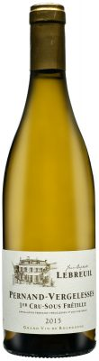 Wino Domaine Jean-Baptiste Lebreuil Pernand-Vergelesses Premier Cru AC 2015