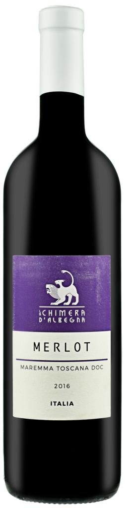 Wino Chimera Merlot Maremma Toscana DOC 2016