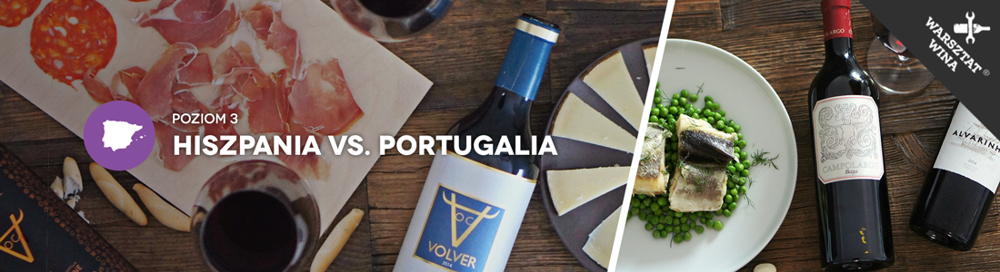 Warsztat Wina: Hiszpania vs. Portugalia