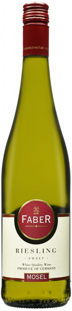 Wino Faber Riesling Süss Mosel 2018