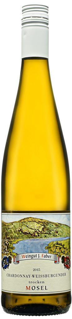 Wino Faber Weissburgunder Chardonnay Trocken Mosel 2015