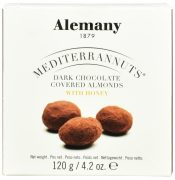 Alemany migdał w miodzie i ciemnej czekoladzie (120 g)