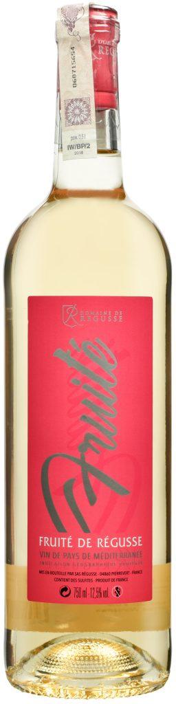 Wino Domaine de Régusse Fruité de Régusse Méditerranée IGP 2018