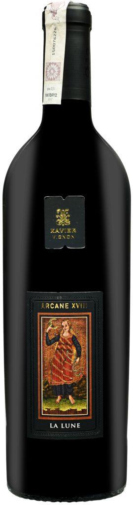 Wino Xavier Arcane XVIII La Lune Côtes du Rhône AOC 2010