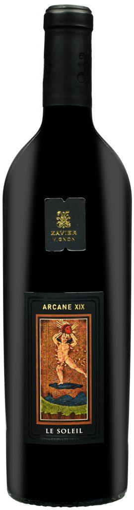 Wino Xavier Arcane XIX Le Soleil Côtes du Rhône Villages AOC 2015