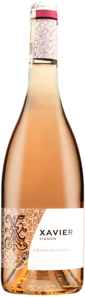Wino Xavier Rosé Côtes du Rhône AOC 2020