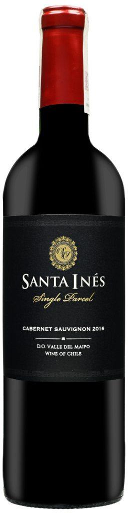 Wino Santa Inés Single Parcel Cabernet Sauvingon Maipo Valley 2016
