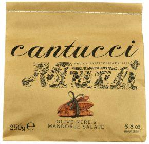 Ciasteczka cantuccini Muzzi z oliwkami (250 g)