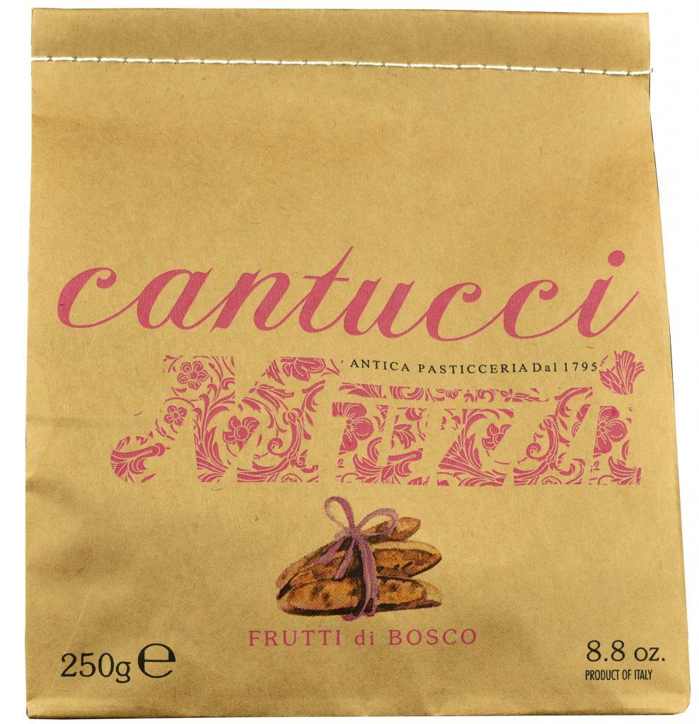 Ciasteczka cantuccini Muzzi z owocami leśnymi (250 g)