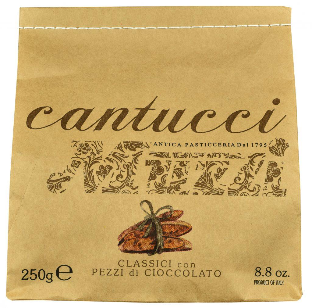 Ciasteczka cantuccini Muzzi z kawałkami czekolady (250 g)
