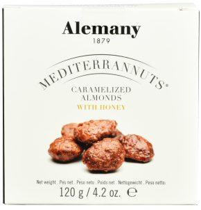 Migdały Alemany w miodzie rozmarynowym (120 g)