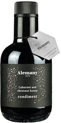 Ocet winny Alemany cabernet sauvignon i z miodem (250 ml)