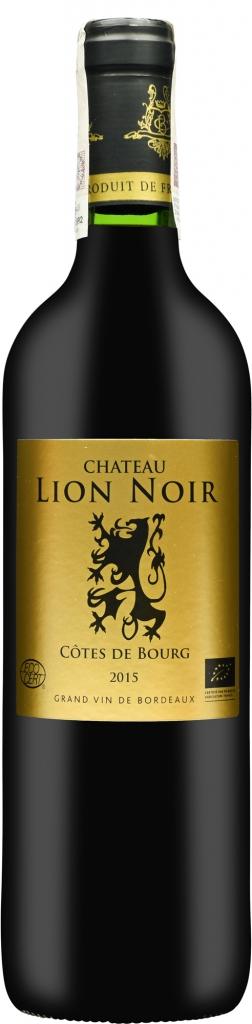 Wino Chateau Lion Noir Côtes de Bourg AOC 2016