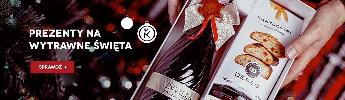 Prezenty - wino, wino w skrzynce, pudełka świąteczne z winem