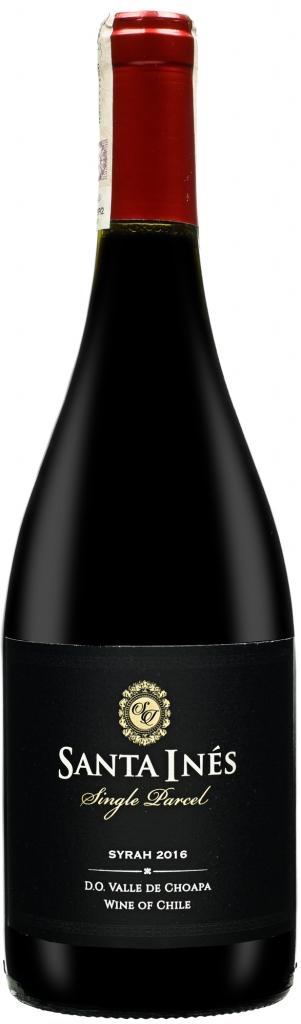 Wino Santa Inés Choapa Single Parcel Syrah 2016