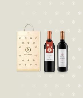 Bordeaux i Rioja w świątecznej skrzynce