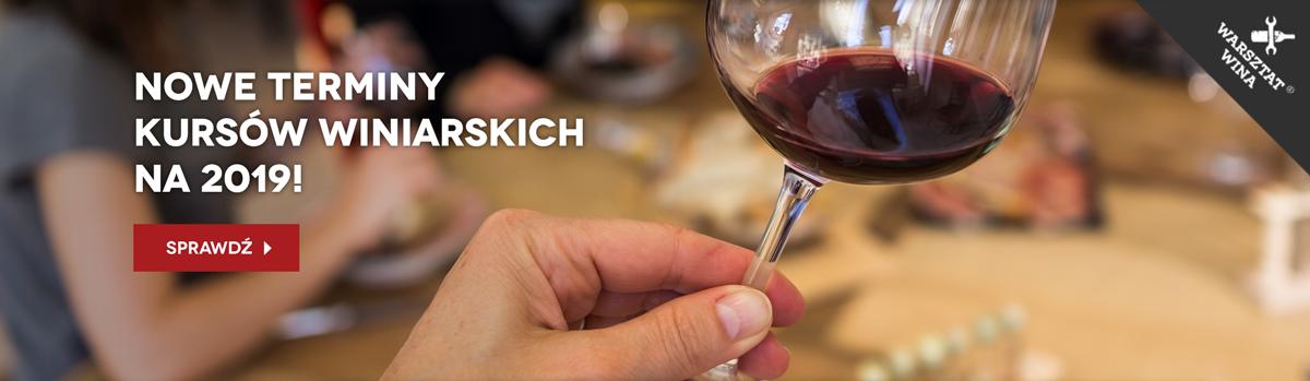 Nowe terminy kursów winiarskich