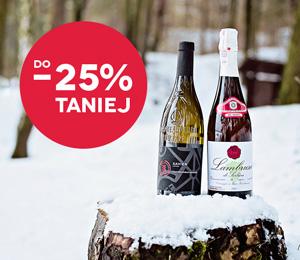 Zimowa Wyprzedaż! Wybrane wina do 25% taniej
