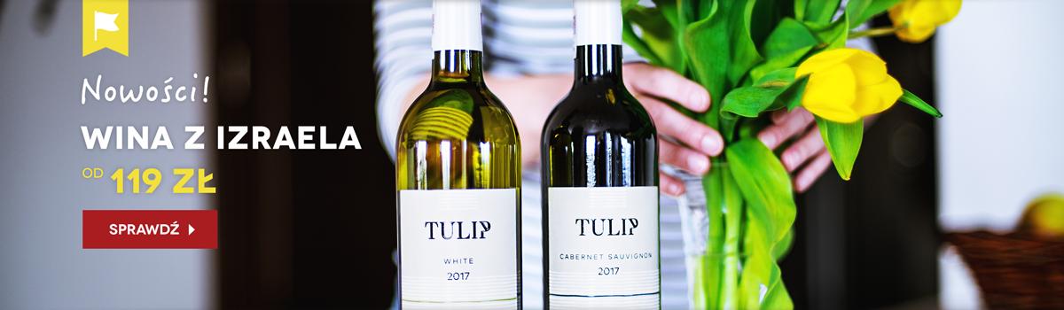 Tulip Winery - wina z Izraela