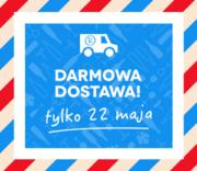 Darmowa Dostawa tylko 22 maja 2019!