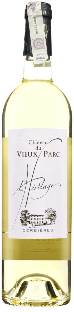 Wino Vieux Parc l'Heritage Blanc Corbieres AOP 2019
