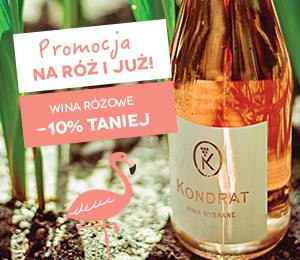 Promocja na róż ijuż! Wina różowe 10% taniej