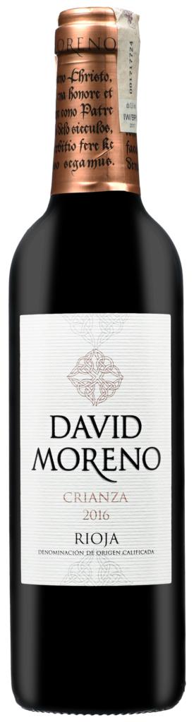 Wino David Moreno Crianza Rioja DOCa 2016 375 ml