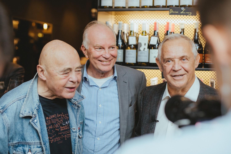 Otwarcie BARaWINO Warszawa - Marek Kondrat i goście