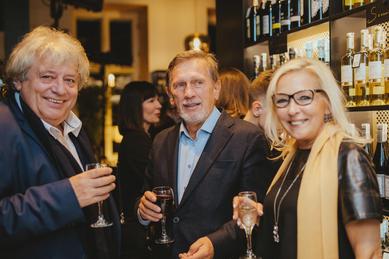 Otwarcie BARaWINO Warszawa - Jan Englert