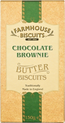 Ciasteczka Farmhouse Lux Chocolate Brownie (150 g)