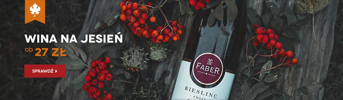 Wina polecane na jesień