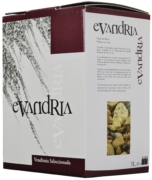 Wino Bag-in-Box: Coloma Rosado Evandria Extremadura VdlT 3 l