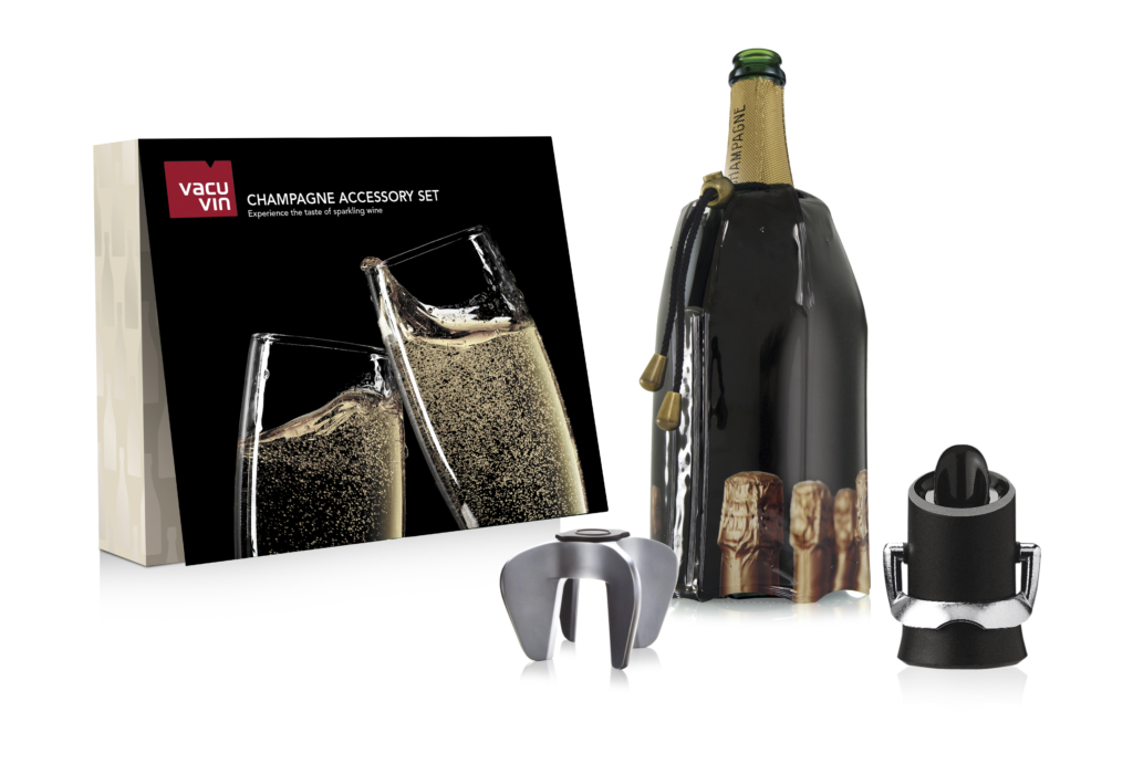 Vacu Vin zestaw akcesoriów do szampana