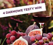 Jesień zczerwonym winem! Wina zrabatem 10% idarmowe testy wsklepach