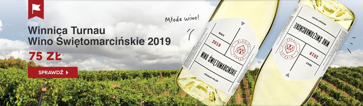 Winnica Turnau Wino Świętomarcińskie 2019