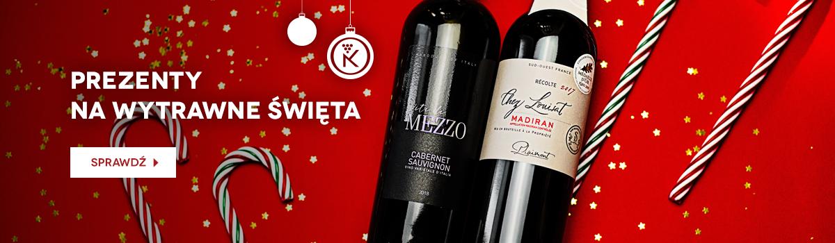 Świąteczna oferta win i prezentów z winem