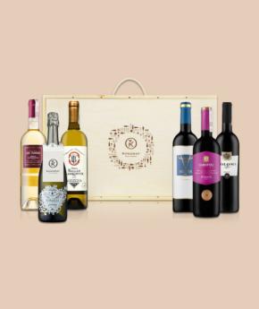 Wina Wybrane na prezent w skrzynce