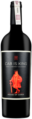 Wino House of Cards Cab is King Napa County AVA 2017
