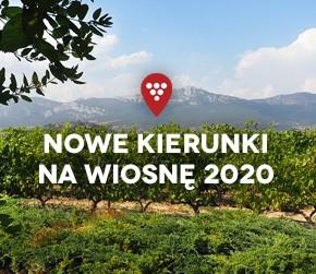 MISJA WINO: nowe kierunki na wiosnę 2020!